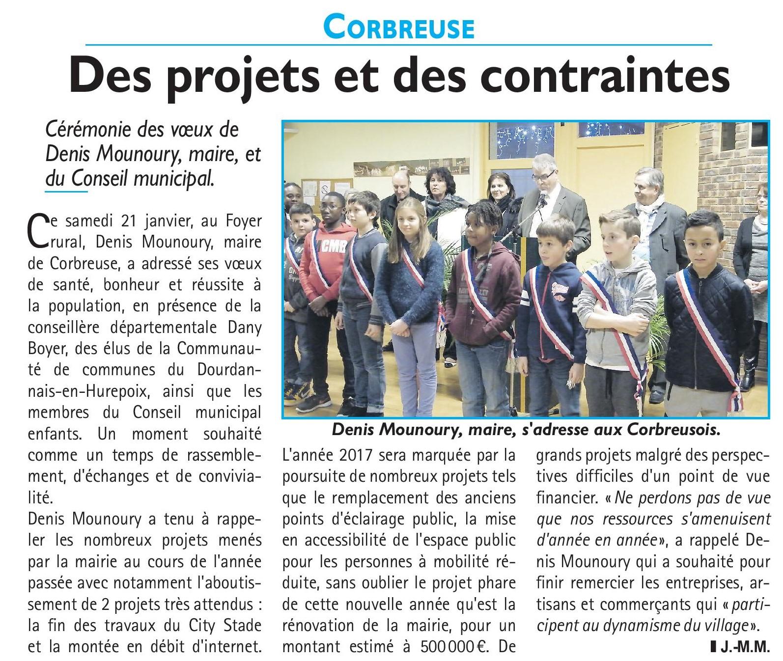 Journal Le Républicain du 26/01/2017